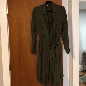 Free people small trench coat